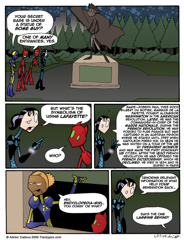 Lafayette was Some Guy…